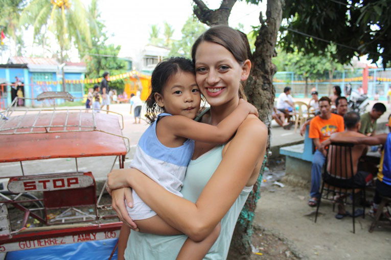 Elsa Thomasma in Tacloban City, Philippines